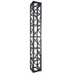 Applied NN 12in. x 12in. Heavy Duty Tower Truss 10 ft. - Black