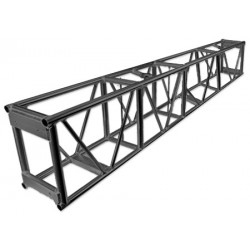 Applied NN 15in. x 23.5in. x 93in. Single Hung Pre-Rigged Truss - Black