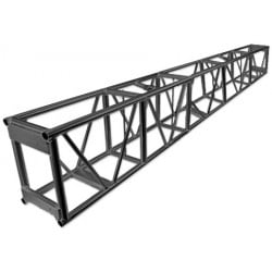Applied NN 15in  x 23 5in  x 120in  Single Hung Pre-Rigged Truss - BLK  Applied NN 12-02-120BK