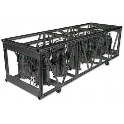 Applied NN 30in. x 26in. x 93in. Double Hung Pre-Rigged Truss - Black