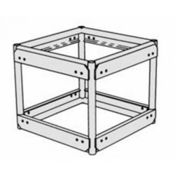 Applied NN 30in x 26in Double Hung Pre-Rigged Truss 4-Way Corner - BLK