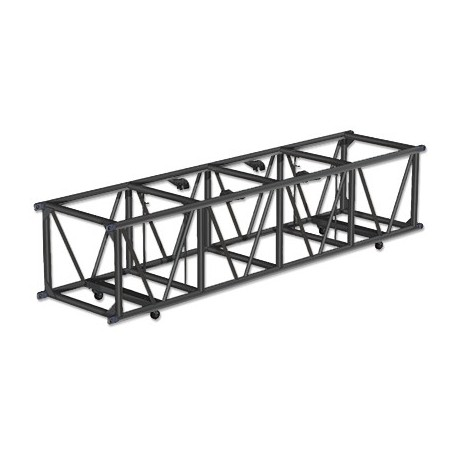 Applied NN 30in. x 26in. x 123in. Double Hung Spigoted Pre-Rigged Truss - Black