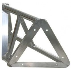 Applied NN 8in. Lite Duty Tri-Truss 90 Degree Horizontal - Black