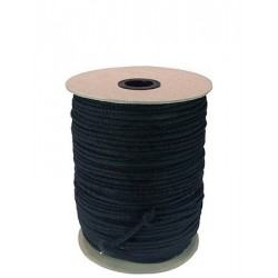 Black Unglazed Tie Line - 1/8in. - 600' Reel