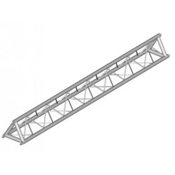 Applied NN 12in. Lite Duty Tri-Truss 90 Degree Vertical - Black