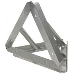 Applied NN 10in. Euro Style Tri-Truss 90 Degree Vertical - Black