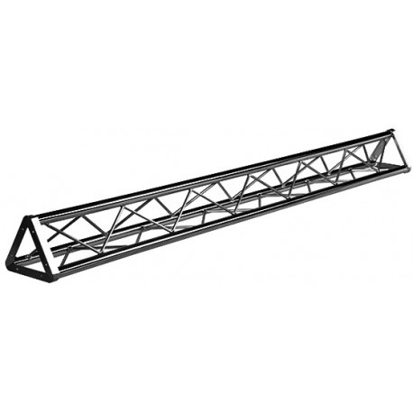 Lied Nn 12in Euro Style Tri Truss 10ft Black Stage Lighting