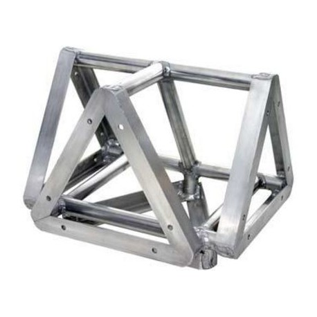 Applied NN 18in. Euro Style Tri-Truss 3-Way to Vertical - Black