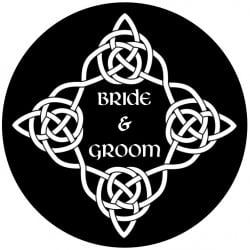 Rosco Glass Gobo - Wedding Design 0008