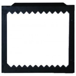 Altman Black Hinged Color Frame 11 1/2in. x 10 1/2in. for Econocyc
