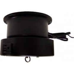 CT 105E8 Ceiling Turner with Rotating Electrical Outlet - 3 RPM - 15 lb. Capacity