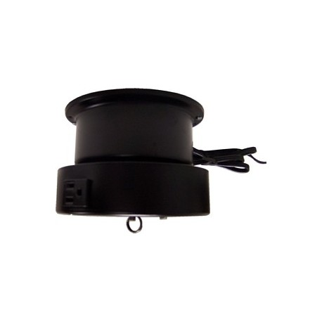 Ceiling Turner Light Duty Motor w/ Rotating Electrical Outlet - 4 Amp - 3 RPM - 15 lbs Capacity