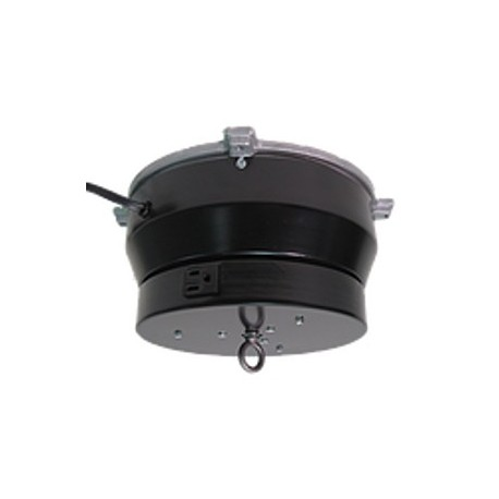 Ceiling Turner Medium Duty Motor w/ Rotating Electrical Outlet - 4 Amp - 2 RPM - 150 lbs Capacity