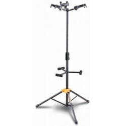 Hercules Guitar Stand - 3 Auto Grip Systems Holds 3 Guitars or Basses