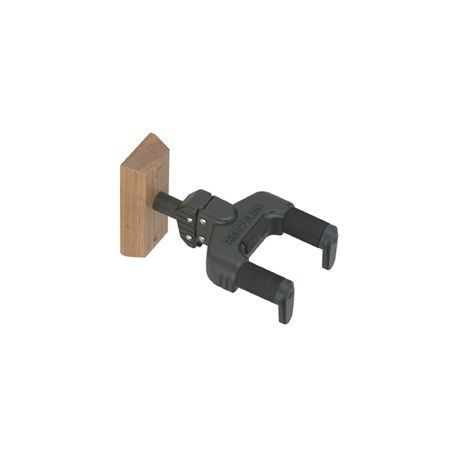 Hercules Auto Swivel Yoke Guitar Hanger - Wood Base