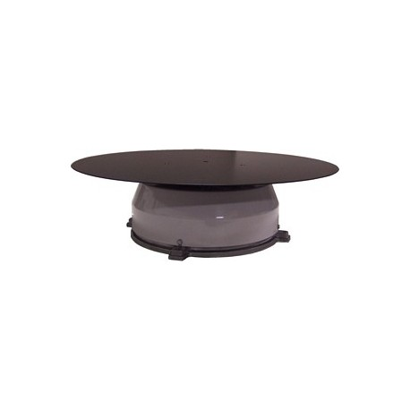 17in. Steel Turntable - 2 RPM - 150 lbs Capacity