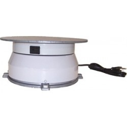 17in. Turntable w/ Rotating Electrical Outlet - 8 Amps - 2 RPM - 150 lbs Capacity