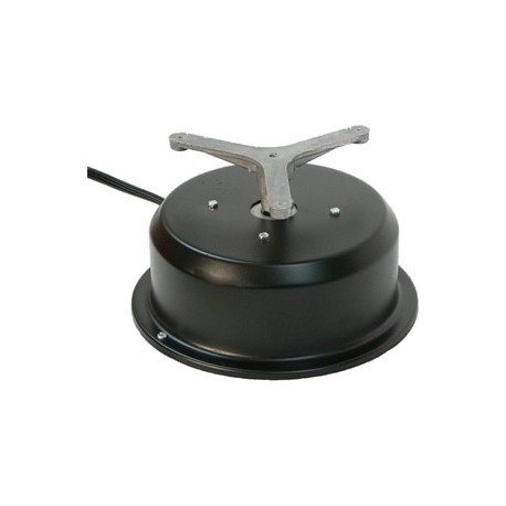 Heavy Duty Motor Box w/ Rotating Electrical Outlet - 4 Amp - 2 RPM - 50 lbs Capacity