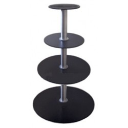 4 Tier Turntable - 2 RPM - 150lbs Capacity