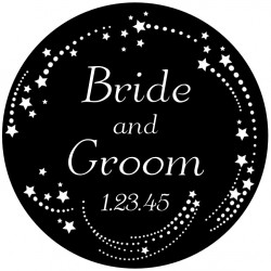Rosco Glass Gobo - Wedding Design 0014