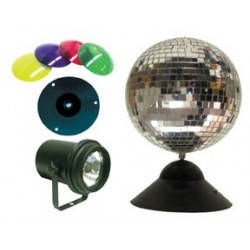 ADJ Instant Mirror Ball Package
