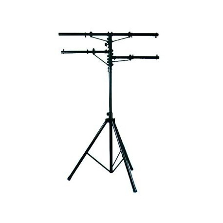 ADJ Heavy Duty Tripod Stand - 2 Side Bars - 12' Height