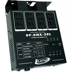 Elation 4 Channel DMX Dimmer Pack