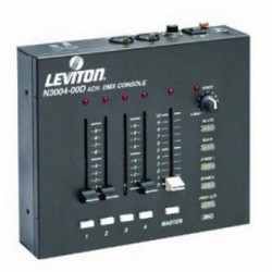 Leviton 3000 Series DMX Control Console - Four Channel
