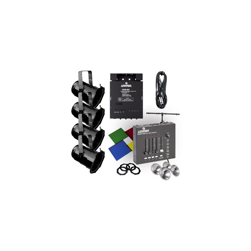 Leviton Par 38 Lighting System With 3004 Console - Stage Lighting Store
