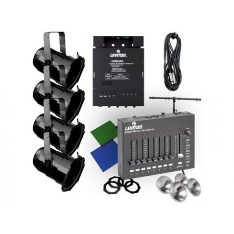 Leviton par 38 lighting system with 3008 console stage for Lighting packages for new homes