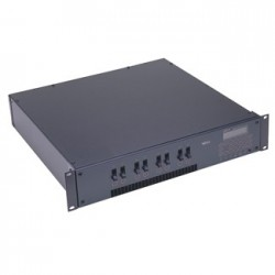 Leviton DS 8 Channel Modular Rack Mount Dimmer/Relay System - 1200W/Channel DMX512 Knockout Panel