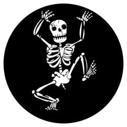 Rosco Steel Gobo - Jumping Skeleton
