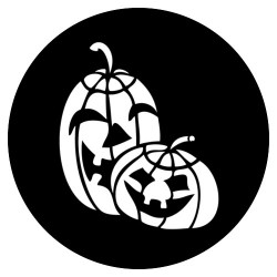 Rosco Steel Gobo - Jack-O-Lanterns