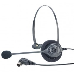 Clear-Com HS16 Single-Ear Lightweight Headset With Directional Mic