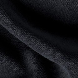 Princess Velour Fabric - 54in. wide 60yd bolt - 16 oz Med. Weight - FR Black