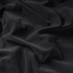 Majestic Velour Fabric - 54in. wide 50yd bolt - 25 oz Weight - FR Black