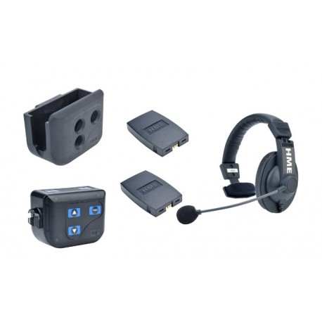 Clear-Com BP200 Beltpack With HS15 Single-Ear Headset