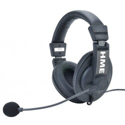 Clear-Com HS15D Double-Ear Headset With Noise-Cancelling Mic