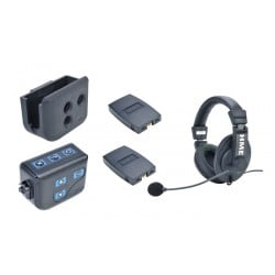 Clear-Com BP300 Beltpack With HS15D Double-Ear Headset