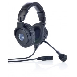 Clear-Com CC-400 Double-Ear Headset - Non-Terminated End