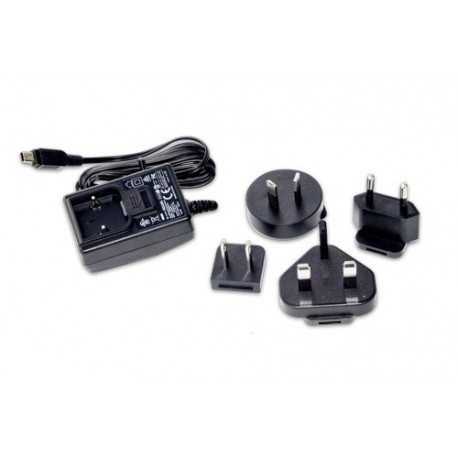 Tempest 5 VDC Wall Charger -Mini USB Connector -Interchangeable Power Blades
