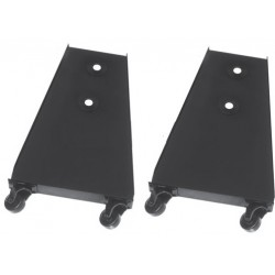 Altman Castered Floor Trunnion Pair