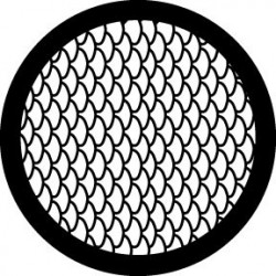 Rosco Steel Gobo - Fish Scales
