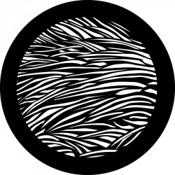 Rosco Steel Gobo - Fur Texture
