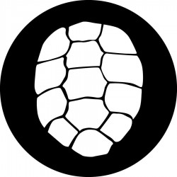 Rosco Steel Gobo - Turtle Shell