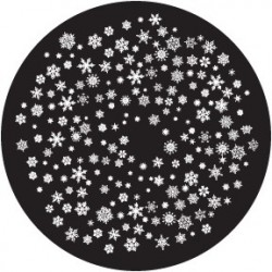 Rosco Glass Gobo - Snowflakes 4