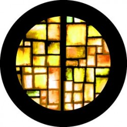 Rosco Glass Gobo - Amber Squares