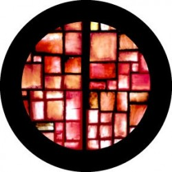 Rosco Glass Gobo - Red Square