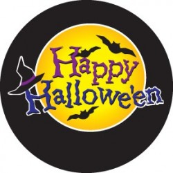 Rosco Glass Gobo - Batty Happy Halloween