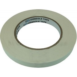 PROTAPE Console Tape - White - 1/2in. x 60 yd